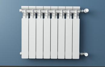 Radiador funcionando con gasóleo C