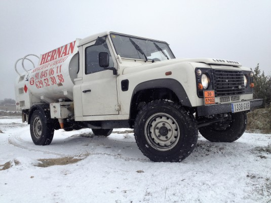 LAND ROVER NIEVE